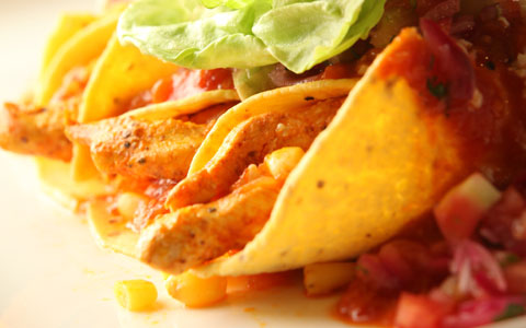 Enchiladas de Pollo Colombina