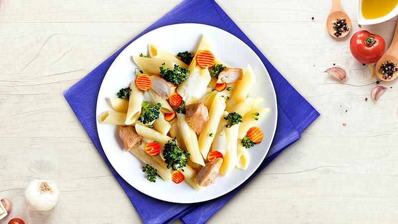 Ensalada de Pollo y Pasta