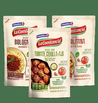 Salsas Listas de Tomate