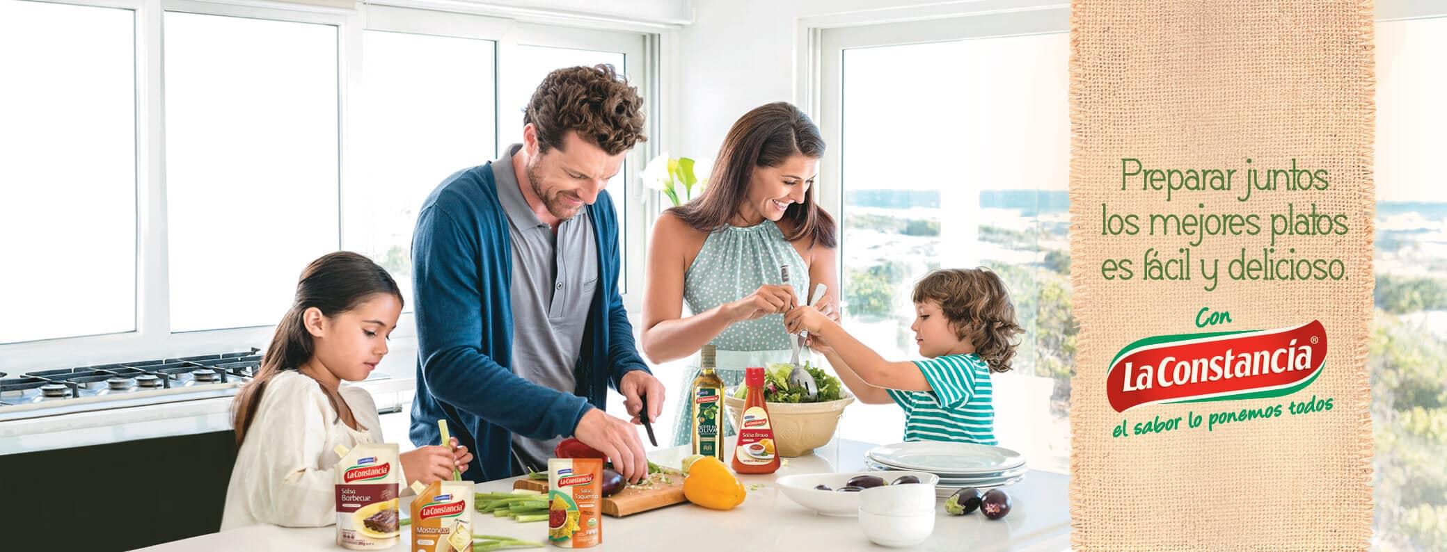 Preparar juntos los mejores platos